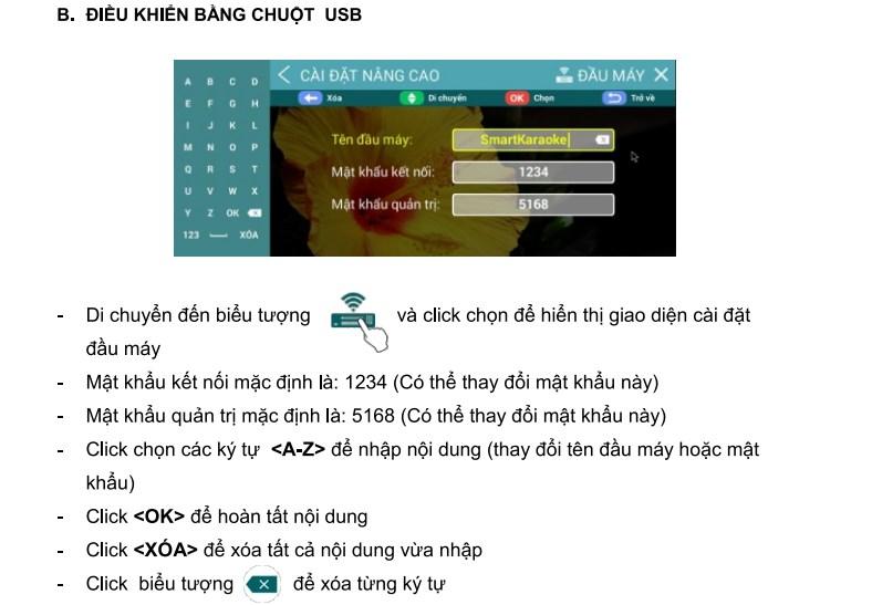 Đầu karaoke acnos sb801